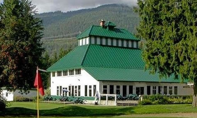 Picture of Revelstoke Golf Course.