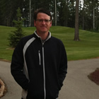 Photo of Tim Sawchyn the director of golf and marketing at Candle Lake Golf Resort.