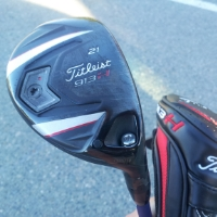 21-degree Titleist adjustable hybrid golf club
