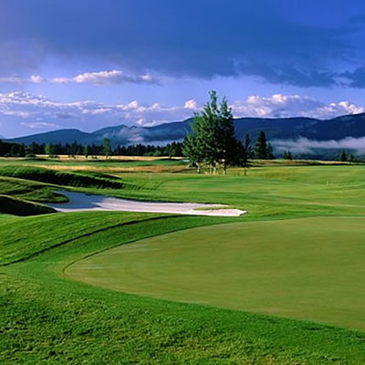 Bootleg Gap Golf Course, Kimberley, B.C.