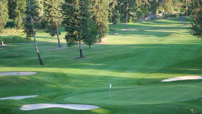 Buffalo Hills Golf Course, Kalispell.