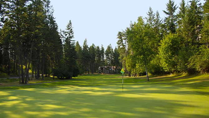 Eagle Bend Golf Club (Osprey course), Bigfork.