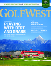 GolfWest Magazine Cover