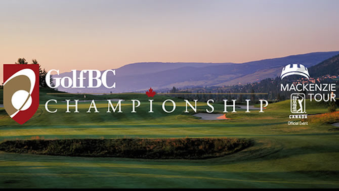 Graphic of the Golf BC Championship.