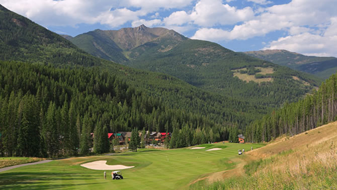 Greywolf Golf Course, Panorama