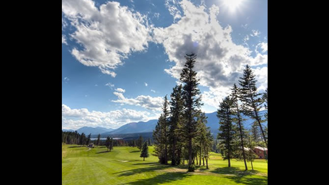 Mountainside Golf Course, Fairmont Hot Springs, B.C.