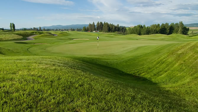 Northern Pines Golf Course, Kalispell.