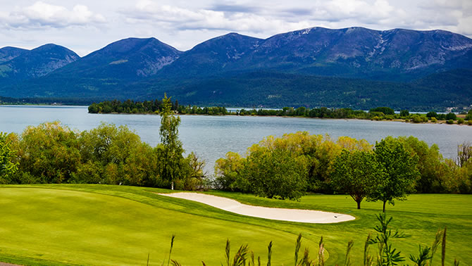Polson Bay Golf Course, Polson.