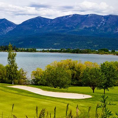 Polson Bay Golf Course, Polson.