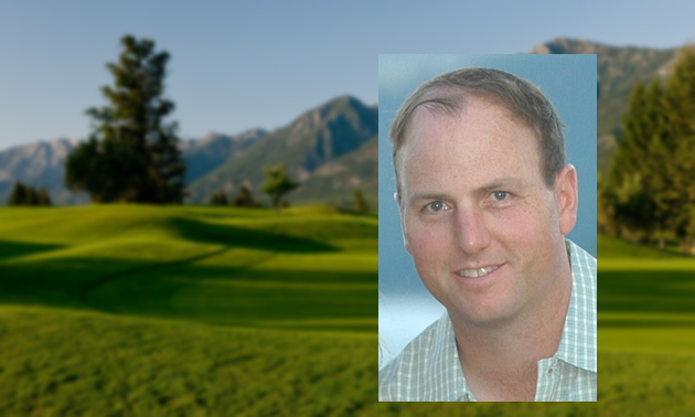 Brent Taylor, head pro at the Springs Course at Radium Resort