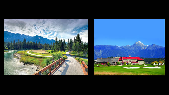 Riverside Golf Course, Fairmont Hot Springs and St. Eugene Golf Resort, Cranbrook, B.C.