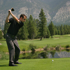steve haggard head pro eagle Ranch teeing off