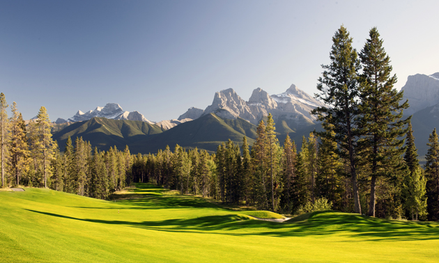 Silvertip Golf Course and Three Sisters.