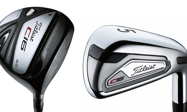 Titleist C16 Irons.
