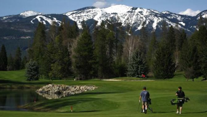 Whitefish Lake Golf Course (North course), Whitefish.