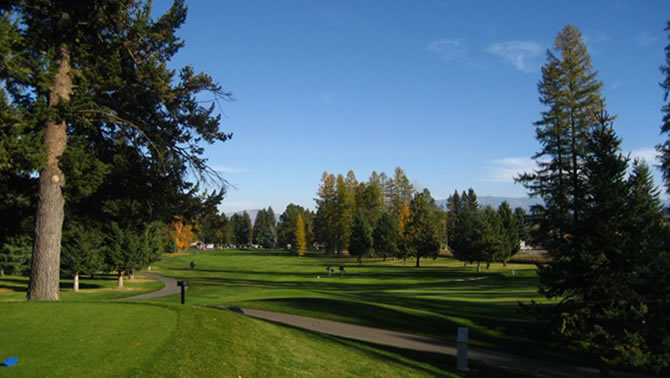 Whitefish Lake Golf Course, Whitefish.