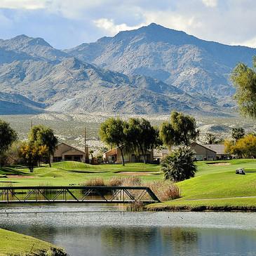 Hole no.11 of Avi Resort Golf Course.