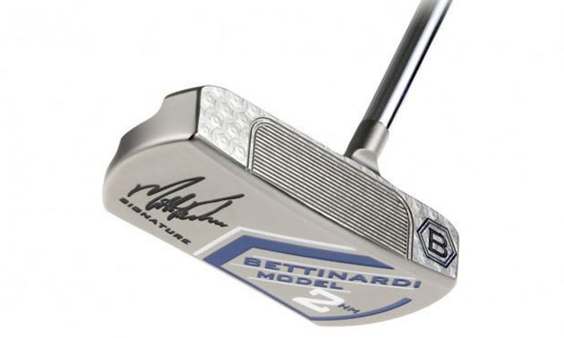 Matt Kuchar's Putter: Model 2-Halfmoon face.