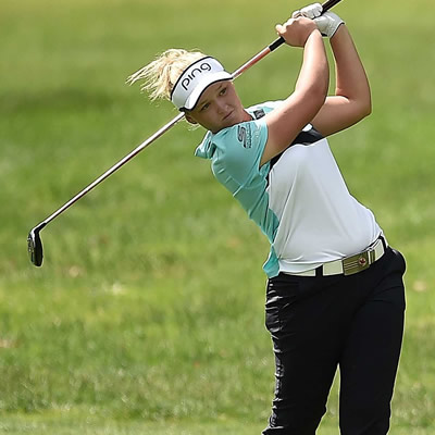 Brooke Henderson captured her  fourth LPGA Tour title at the Meijer LPGA Classic for Simply Give.