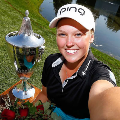 Picture of Brooke Henderson.