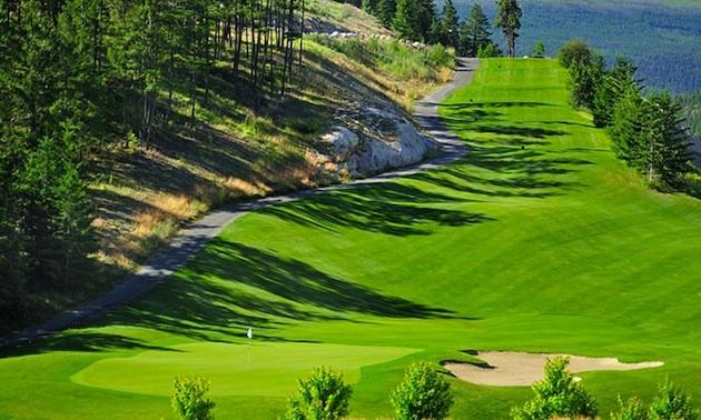 Hole #4,Par 3, Photo courtesy of Black Mountain Golf Club