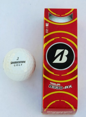 Bridgestone B330 series golf ball