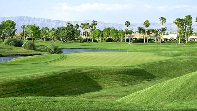PGA West – Jack Nicklaus Course – La Quinta – Tournament tees 7,204