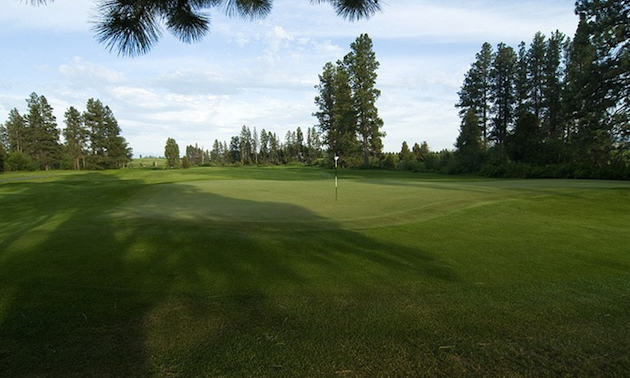 Hole 15 at Big Mountain Golf club in Kalispell