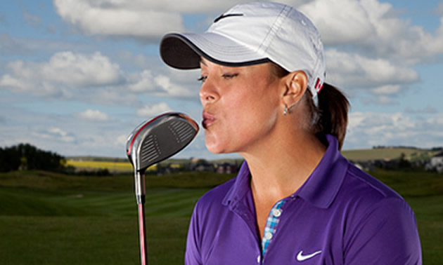 Lisa Longball is the Canadian lead for the 2nd annual Women's Golf Day, held around the world.