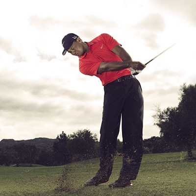 Picture of Tiger Woods.