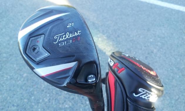 21-degree Titleist adjustable hybrid golf club