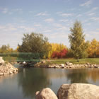 Hole 2, par 3 at Bonnyville Golf & Country Club.