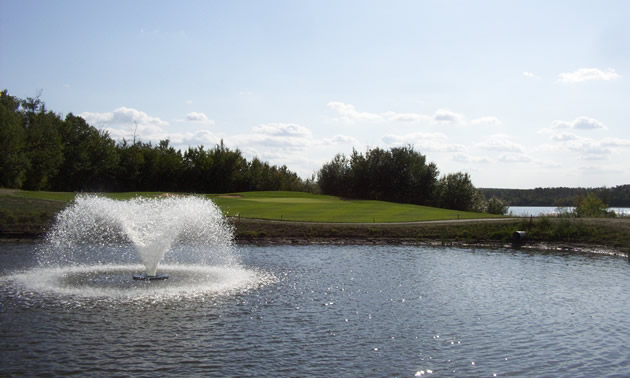 Photo of Bonnyville Golf Club at hole 13