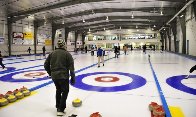 Curling in Cold Lake
