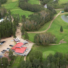 Aerial view photo of Kachur's Golf Club and greens