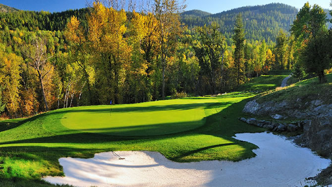 Redstone Golf Course, Rossland, B.C
