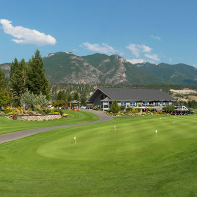 The Springs golf course.