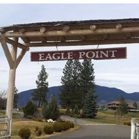 Eagle Point Golf Resort entrance.
