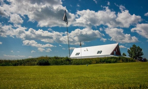 Collicutt Siding Golf Club's clubhouse