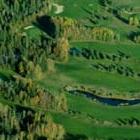Golf course aerial photo of Smoky Lake Golf Course