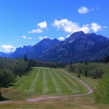 Waterton Lakes Golf Course is in Waterton National Park, sitting high on a bluff surrounded by the beautiful Canadian Rockies and the peaks of Waterton Lakes.