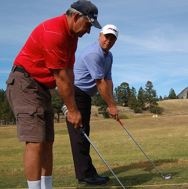 Windermere Valley Golf Course's Shot Shapers Golf Academy.